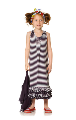 Deux Par Deux Coquette Pasteque Maxi Dress - Rebelle Kids - 1