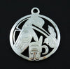 What's New at Crystal Cabin! Haida Silver Pendants by Artist Ding Hutchingson