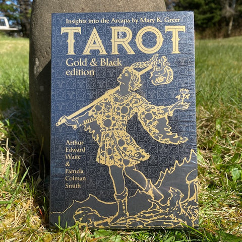 Tarot cards sold by Crystal Cabin.