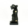 Haida argillite bear carving