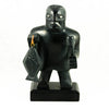 Haida blind halibut fisherman argillite carving