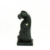 Haida eagle argillite carving
