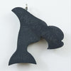 Haida Argillite Killer Whale Orca Necklace