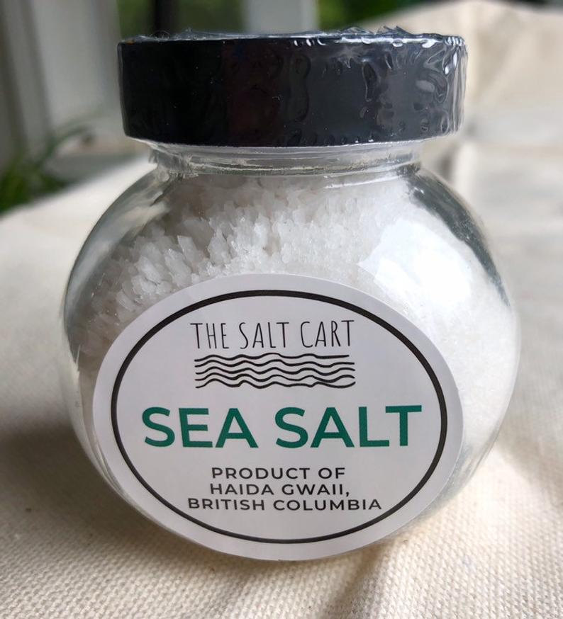 Naturally Harvested Canadian Coarse Sea Salt