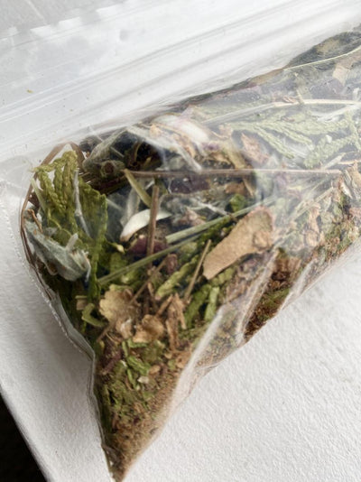 Canadian Smudge Mix with Sage, Sweet Grass, Cedar & Kinnikinnik
