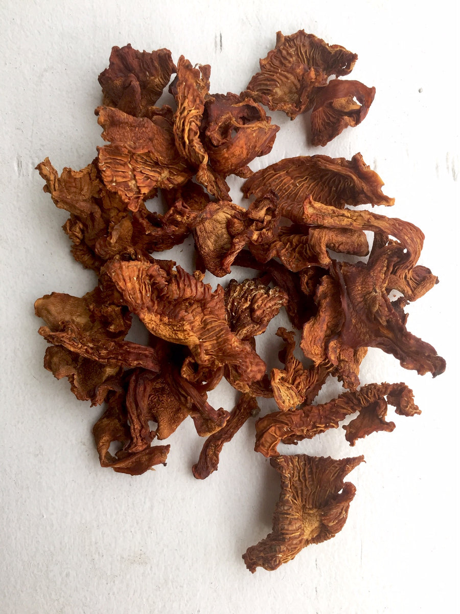 Wild Canadian Dried Chanterelle Mushrooms
