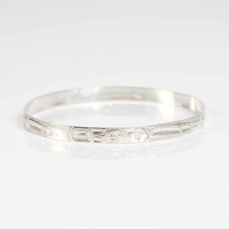 Silver Eagle Bangle sold by Crystal Cabin