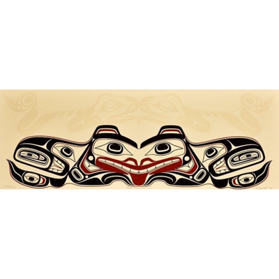 Haida Bear Stepping Into Itself Limited Edition Print