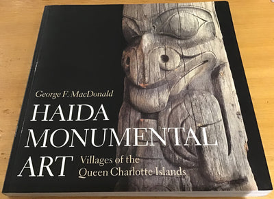 Haida Monumental Art Villages coffee table book