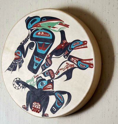 Haida Drum Design Limited Edition Fine Art Print