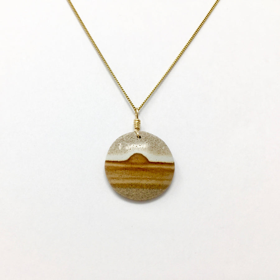 Small Serenity Stone Necklace