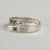 Narrow Silver Hummingbird Wrap Ring