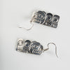 Silver Haida Bear Earrings