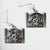 Silver Dogfish Longhouse Earrings