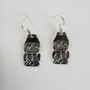Silver Haida Watchmen Earrings