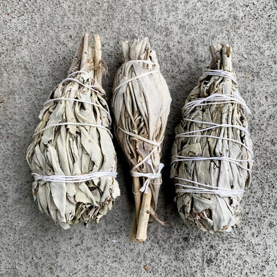 This Sage Smudging Bundle Sticks Incense Healing Ceremony Sustainable is sold by Crystal Cabin.