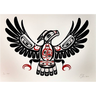 Haida Thunderbird Limited Edition Fine Art Print