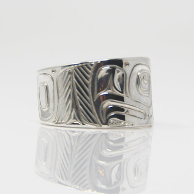 Silver Eagle Ring sold by Crystal Cabin