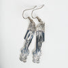 Silver Haida Hummingbird Cutout Earrings