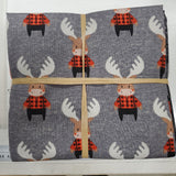 Reindeer Lodge 10pc Fat Quarter Bundle