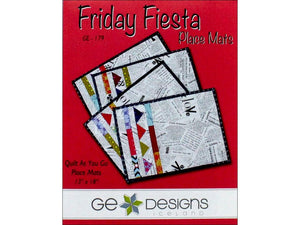 Friday Fiesta Placemats Pattern