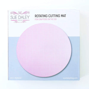 Rotating Cutting Mat by Sue Daley