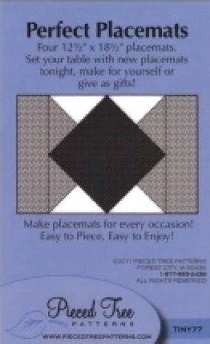 Perfect Placemats Pattern Card