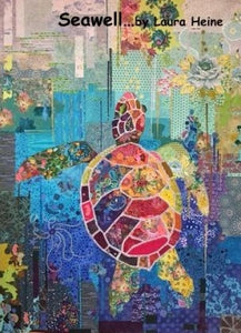 "Turtle ""Seawell"" Collage by Laura Heine"