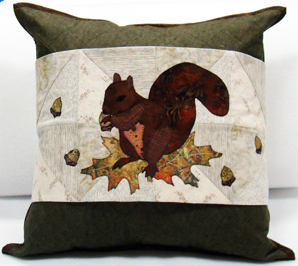 Ah Nuts! Pillow Cover and Wrap Pattern