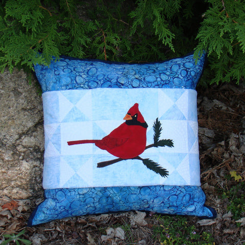Hey Handsome Pillow Cover and Wrap Pattern
