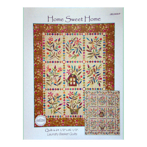 Home Sweet Home Pattern and Laser Cut Shapes Kit