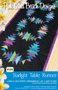 Starlight Table Runner Pattern