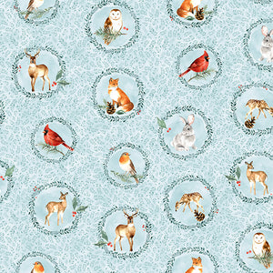 Breeze Woodland Winter - Animal Circles - S4743H 492