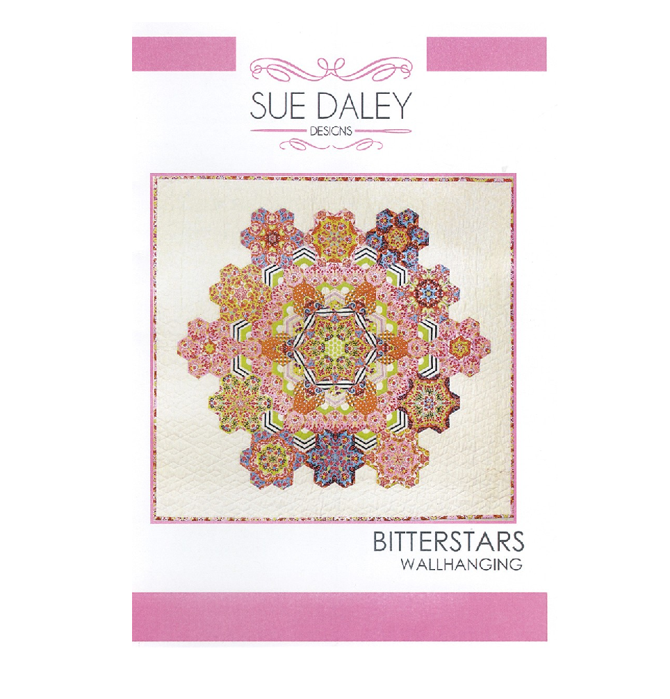 Bitterstars Wallhanging - English Paper Piecing