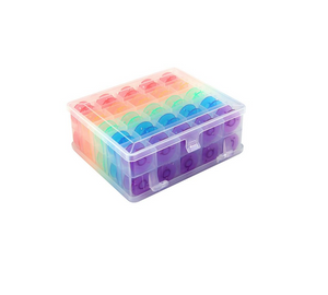 Double Sided Bobbin Box with Bobbins