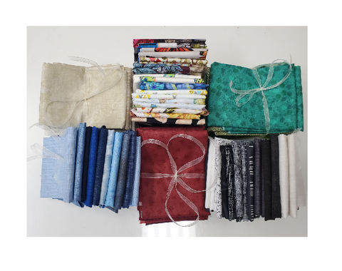 Assorted 10 Fat Quarter Bundle
