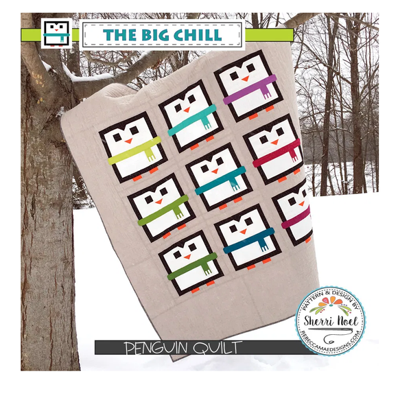 The Big Chill - Penguin Quilt