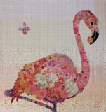 "Flamingo ""Pinkerton"" Collage by Laura Heine"