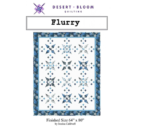 Flurry by Desert Bloom Quilting