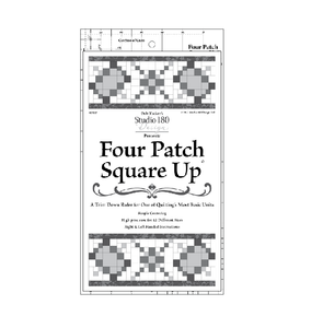 Four Patch Square Up Ruler by Deb Tucker