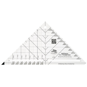 Half Square Triangle Ruler by Creative Grids