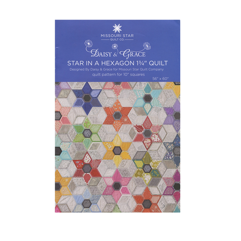 Star in a Hexagon Quilt