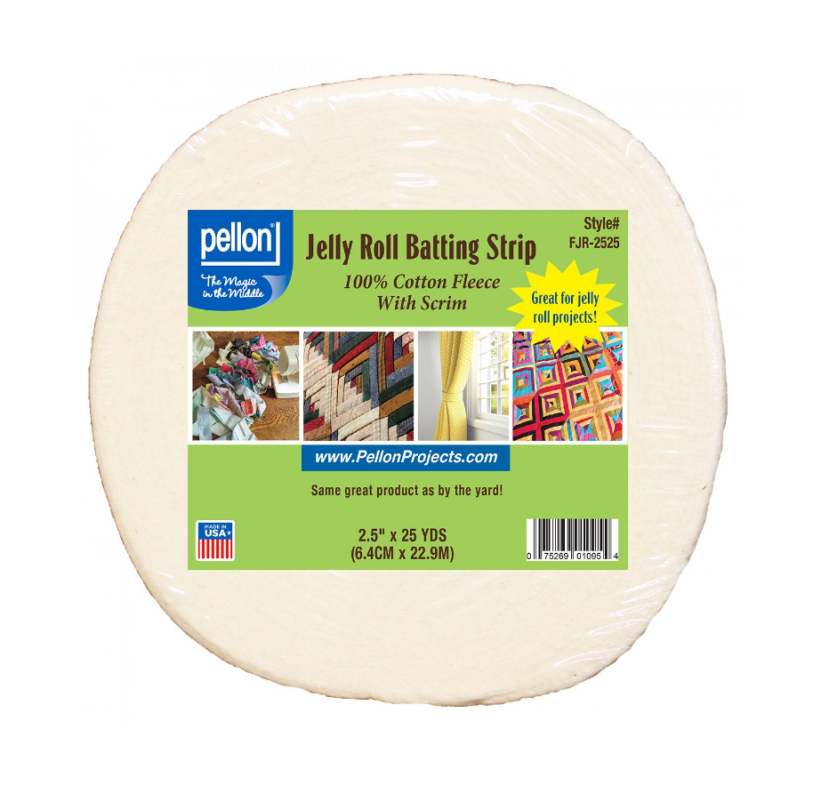 Jelly Roll Batting Strip by Pellon
