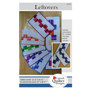 Leftovers - Placemats and Runner Pattern
