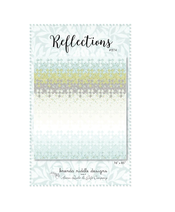 Reflections Quilt Pattern by Brenda Riddle Designs