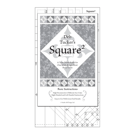 Square 2 Ruler by Deb Tucker
