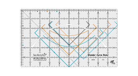 Wonder Curve Ruler by Sew Kind of Wonderful