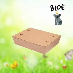 Food box di carta kraft 20 x 14 x 5 cm 100 un