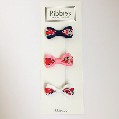Set of 3 Liberty Bows - Wiltshire