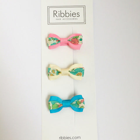 Set of 3 Liberty Bows - Betsy